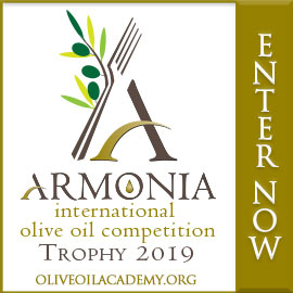 Armonia International Olive Oil Competition banner ad