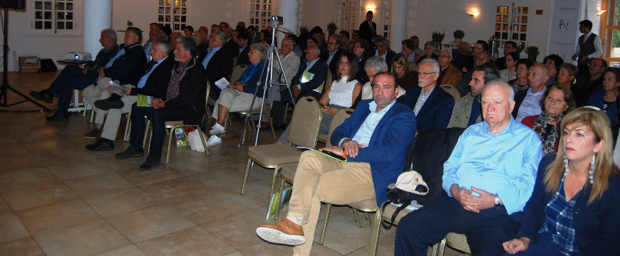 the audience for the World Olive Day event at Grecotel