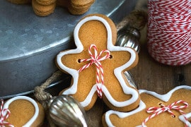 olive oil gingerbread men