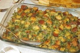 olive oil herb stuffing